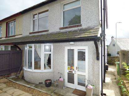 3 Bedrooms Semi Detached House for sale in Penrhos Road, Bangor, Gwynedd, LL57