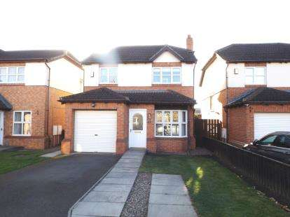 3 Bedrooms Detached House for sale in Bowes Court, Darlington, County Durham