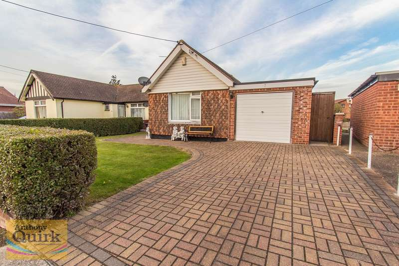 3 Bedrooms Semi Detached Bungalow for sale in Essex Close, Canvey Island, SS8