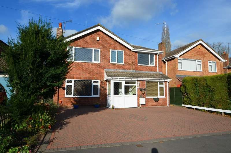 5 Bedrooms Detached House for sale in Gainsborough Crescent, Hillmorton , Rugby