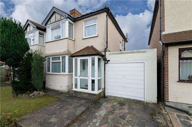 3 Bedrooms Semi Detached House for sale in Victory Avenue, MORDEN, Surrey, SM4 6DL