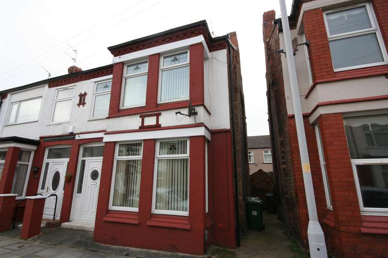 3 Bedrooms Semi Detached House for sale in Wyndham Road, Wallasey, CH45 8NP