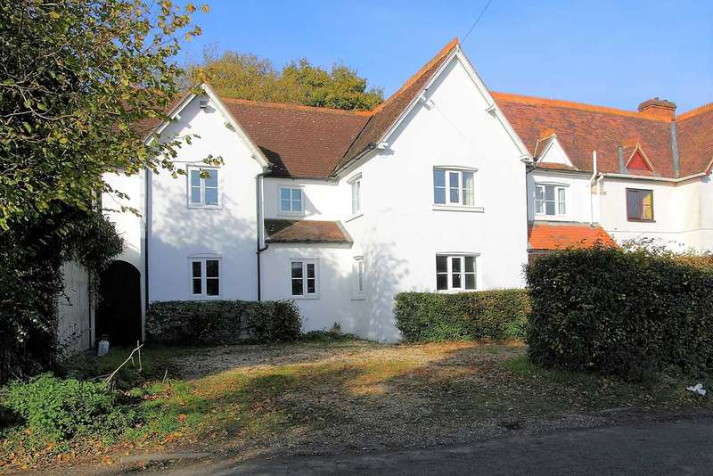 4 Bedrooms Semi Detached House for sale in Pauls Heath Cottages, Cole Henley, Whitchurch