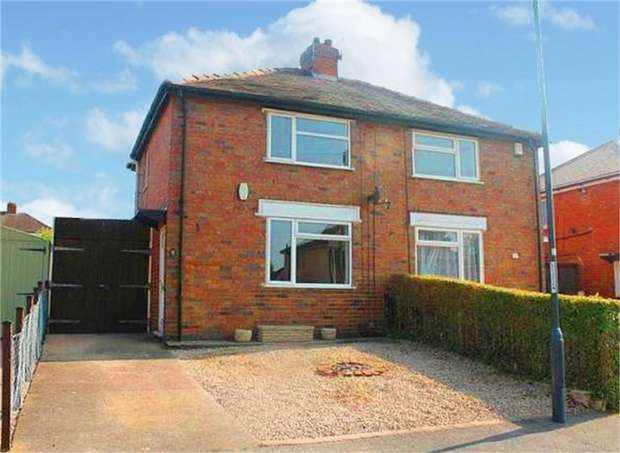 2 Bedrooms Semi Detached House for sale in Sefton Road, Chaddesden, Derby
