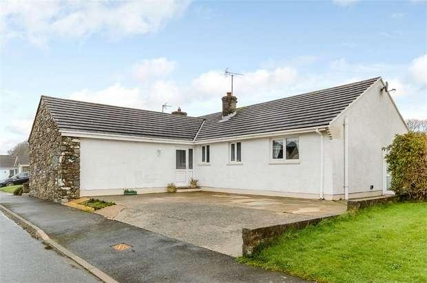 4 Bedrooms Detached Bungalow for sale in Craig Las, Letterston, Haverfordwest, Pembrokeshire