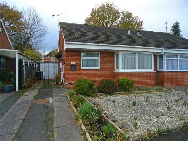 2 Bedrooms Semi Detached Bungalow for sale in Ashington Road, Bedworth, Warwickshire