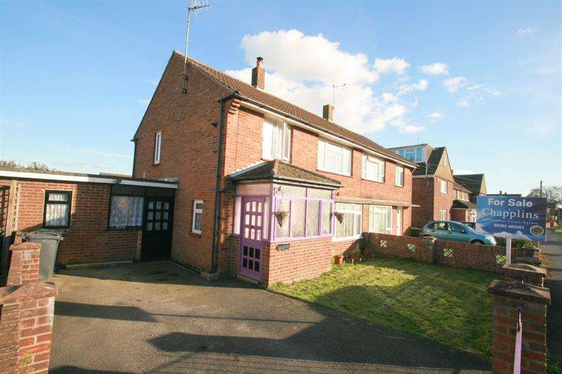 3 Bedrooms Semi Detached House for sale in Newbarn Road, Havant