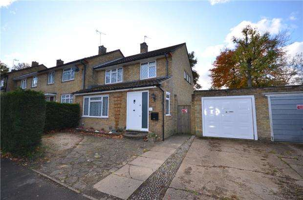3 Bedrooms End Of Terrace House for sale in Harcourt Road, Bracknell, Berkshire