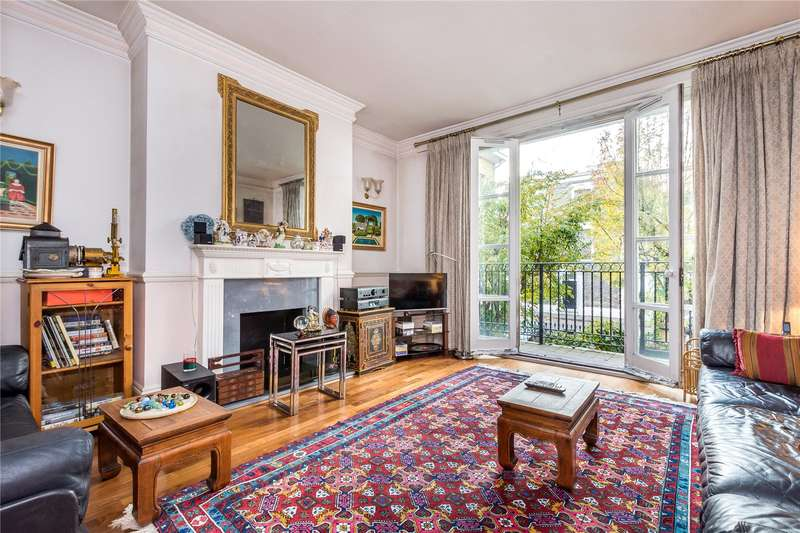 4 Bedrooms House for sale in Deacons Terrace, Harecourt Road, London, N1
