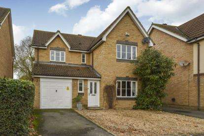 4 Bedrooms Detached House for sale in Blanchland Circle, Monkston, Milton Keynes, Na