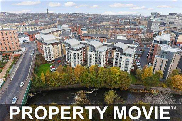 2 Bedrooms Apartment Flat for sale in Flat 8, 46 Partick Bridge Street, Partick, Glasgow, G11 6PQ