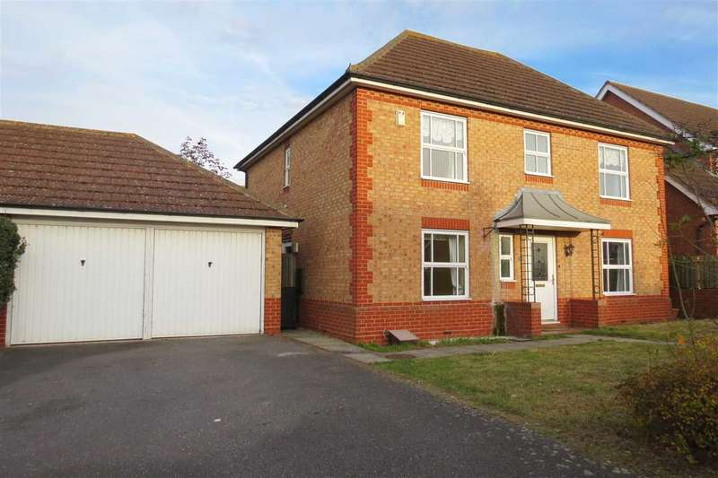 4 Bedrooms Detached House for sale in Hermes Way, Sleaford