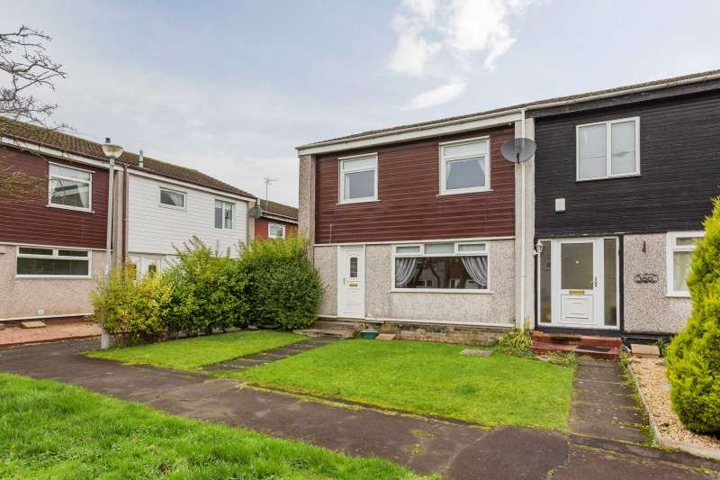3 Bedrooms End Of Terrace House for sale in Carnoustie Crescent, East Kilbride, Glasgow, G75 8TE
