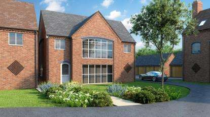 3 Bedrooms Detached House for sale in Milford Green Court, Malkins Way, Shawbury Lane