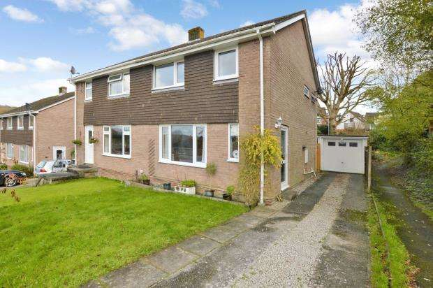 3 Bedrooms Semi Detached House for sale in Canhaye Close, Plymouth, Devon
