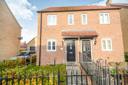 2 Bedrooms Semi Detached House for sale in Knowles Way, Bardney, Lincoln