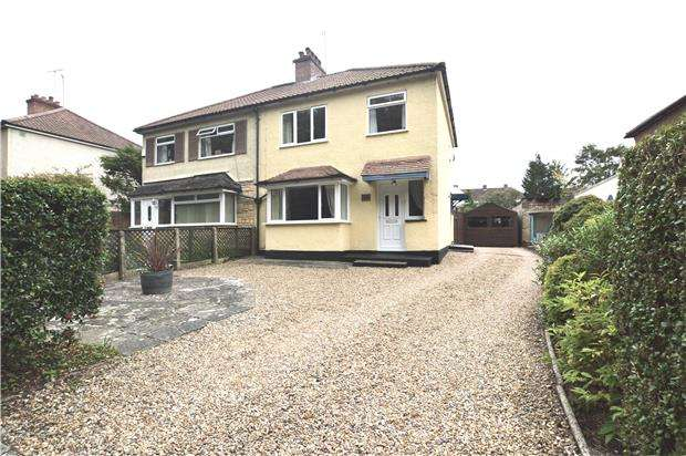 3 Bedrooms Semi Detached House for sale in Hillingdon Avenue, SEVENOAKS, Kent, TN13 3QT