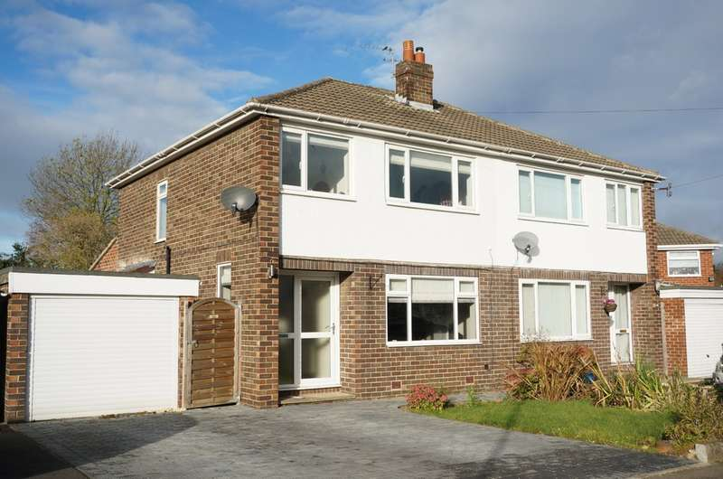 3 Bedrooms Semi Detached House for sale in Meyrick Avenue, Wetherby