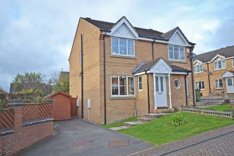 2 Bedrooms Semi Detached House for sale in Juniper Close, Alverthorpe, Wakefield