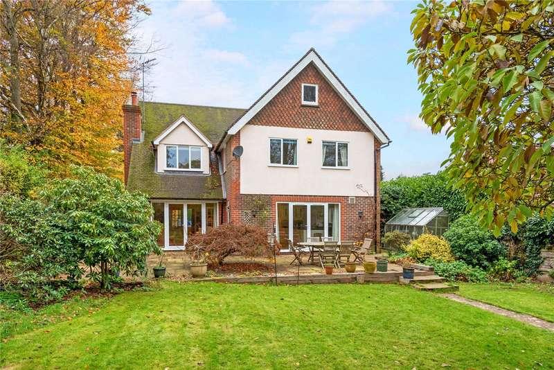 4 Bedrooms Detached House for sale in Wonham Way, Peaslake, Guildford, Surrey, GU5