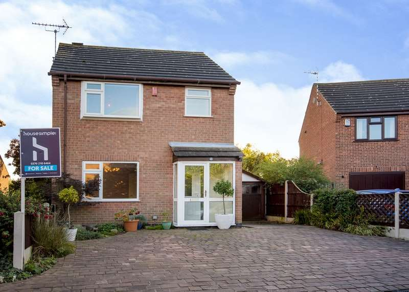3 Bedrooms Detached House for sale in glenn way, Shardlow (derby), Derbyshire, DE72