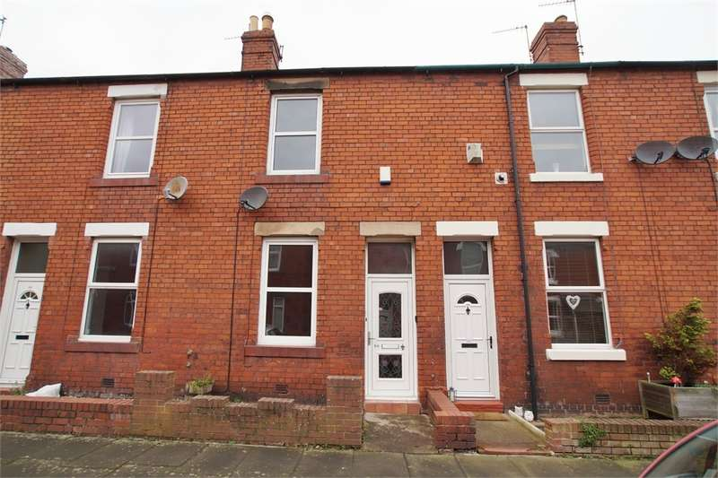 2 Bedrooms Terraced House for sale in CA2 4ER Harrison Street, Currock, Carlisle