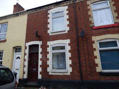 2 Bedrooms Terraced House for sale in Trafalgar Terrace, Long Eaton, Nottingham