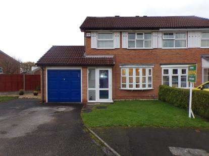 3 Bedrooms Semi Detached House for sale in Foxhope Close, Birmingham, West Midlands