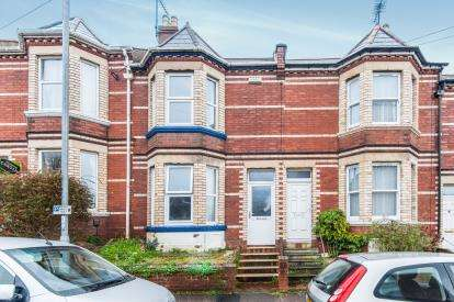 3 Bedrooms Terraced House for sale in Exeter, Devon.