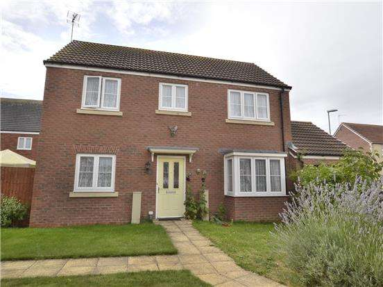 3 Bedrooms Detached House for sale in Wainfleet Avenue Kingsway, Quedgeley, GLOUCESTER, GL2 2FE