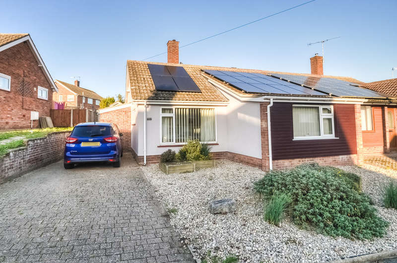 3 Bedrooms Semi Detached Bungalow for sale in Bedingfield Crescent, Halesworth