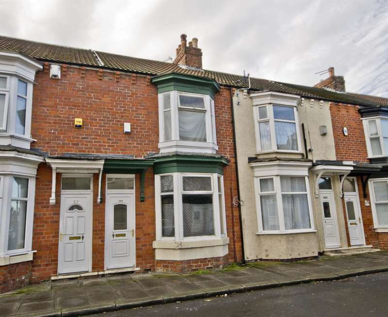 3 Bedrooms Terraced House for sale in Crescent Road, Middlesbrough, TS1 4QS