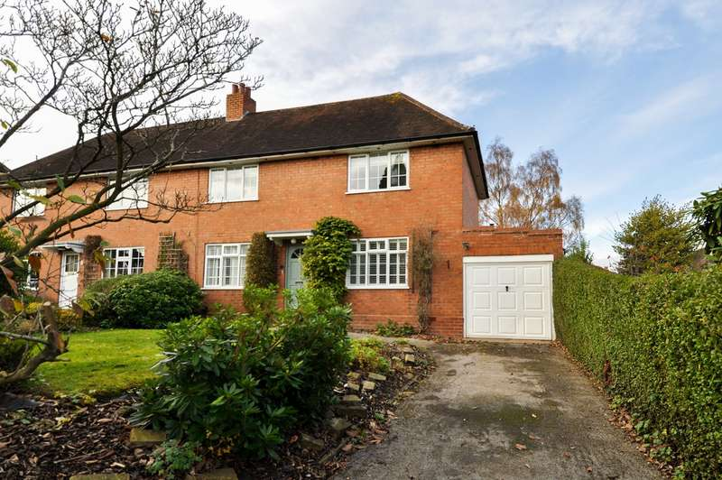 3 Bedrooms Semi Detached House for sale in Green Meadow Road, Bournville Village Trust, Birmingham, B29