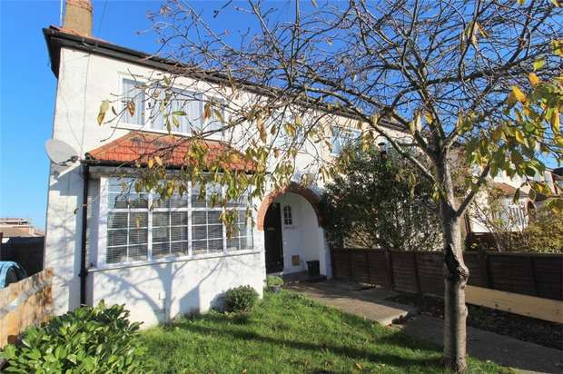 2 Bedrooms Maisonette Flat for sale in Station Crescent, Ashford, Middlesex