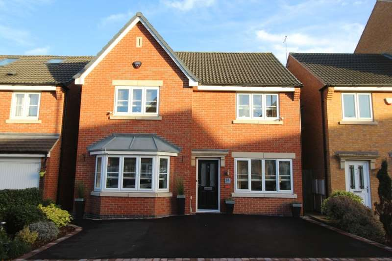 4 Bedrooms Detached House for sale in Magdalene Drive, Mickleover, Derby, DE3