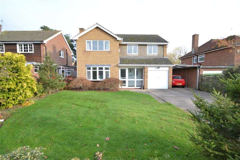 4 Bedrooms Detached House for sale in Delville Avenue, Keyworth, Nottingham