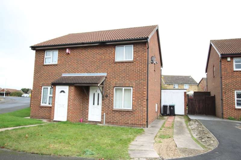 2 Bedrooms Semi Detached House for sale in Hatton Close, Northfleet, Gravesend, DA11