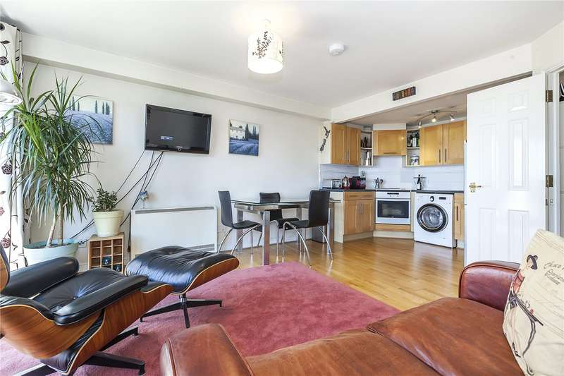 2 Bedrooms Flat for sale in Greenfell Mansions, Glaisher Street, London, SE8