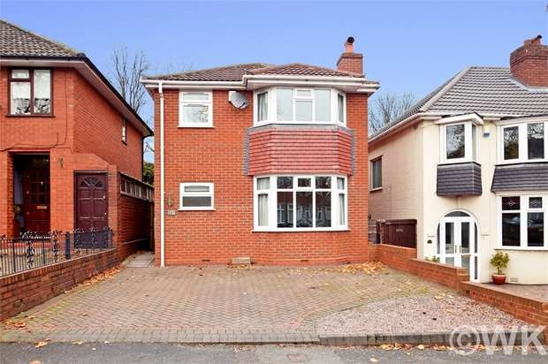 4 Bedrooms Detached House for sale in The Broadway, WEST BROMWICH, West Midlands