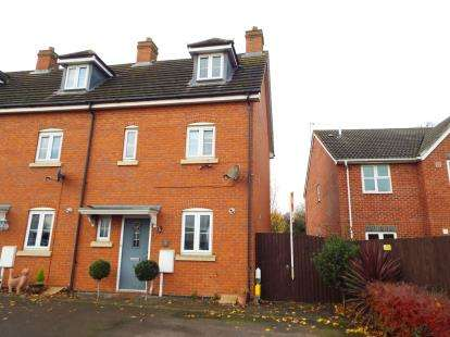 3 Bedrooms End Of Terrace House for sale in Mallard Court, Oakham, Rutland
