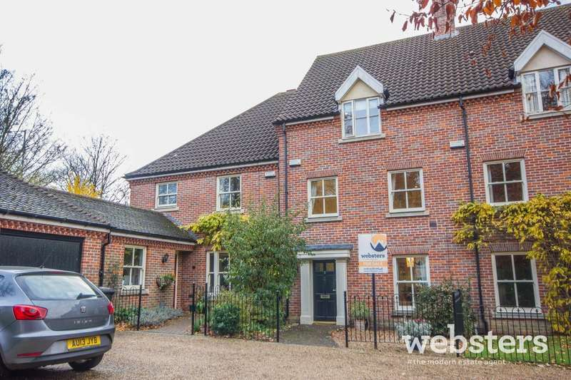 4 Bedrooms Town House for sale in The Willows, Norwich, NR2