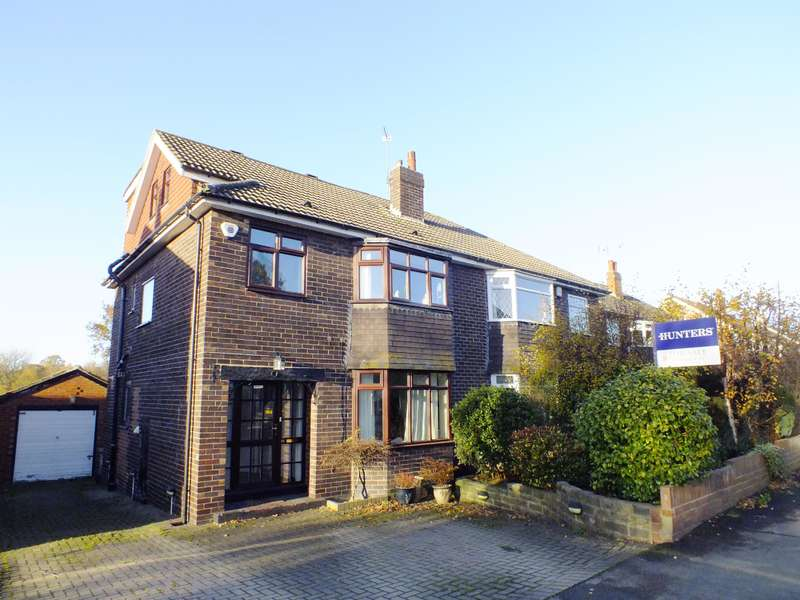 4 Bedrooms Semi Detached House for sale in Moseley Wood Gardens, Leeds, LS16 7HU