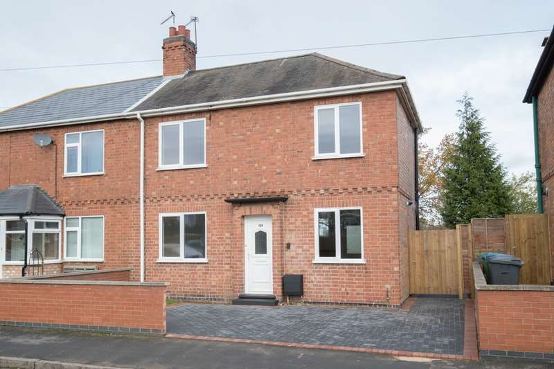 2 Bedrooms Semi Detached House for sale in Abbey Street, Rugby, Warwickshire, CV21