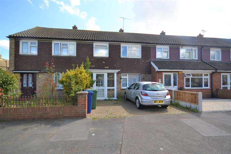 3 Bedrooms Terraced House for sale in Wickham Road, Chadwell St Mary