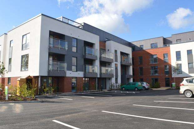 1 Bedroom Flat for sale in Lock House, Keeper Close, Taunton, Somerset