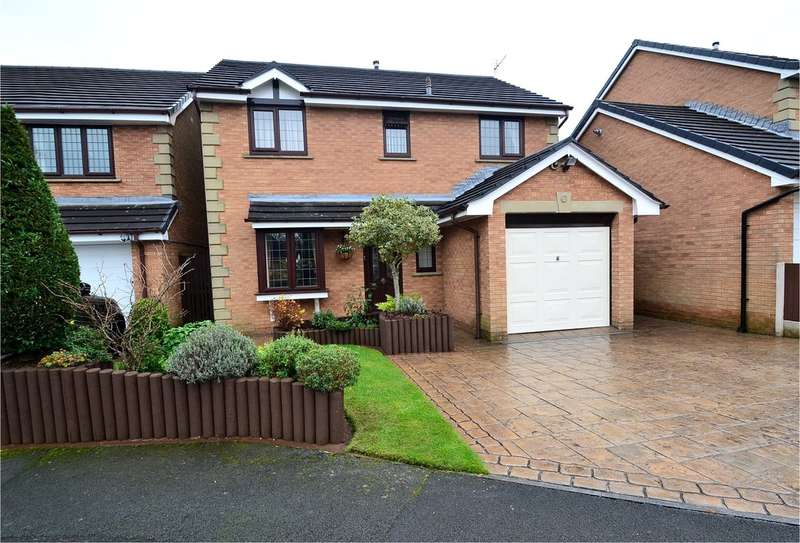 4 Bedrooms Detached House for sale in Wyne Close, Hazel Grove, Stockport SK7 6PD