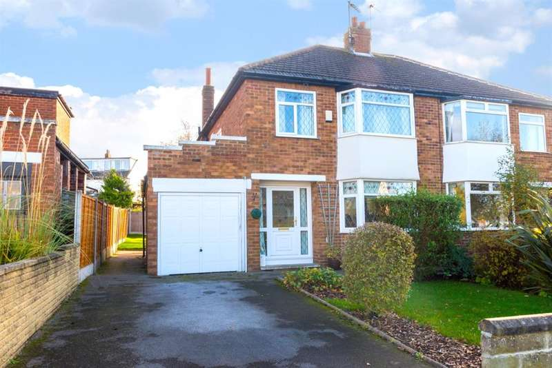 3 Bedrooms Semi Detached House for sale in Green Lane, Cookridge, LS16