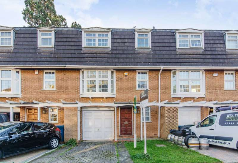 4 Bedrooms Terraced House for sale in Westbury Lodge Close, Pinner, HA5