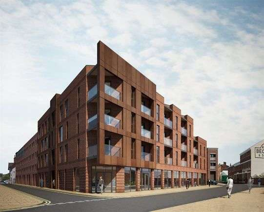 2 Bedrooms Flat for rent in Dun Fields, 37 Dun Fields, Kelham Island, Sheffield