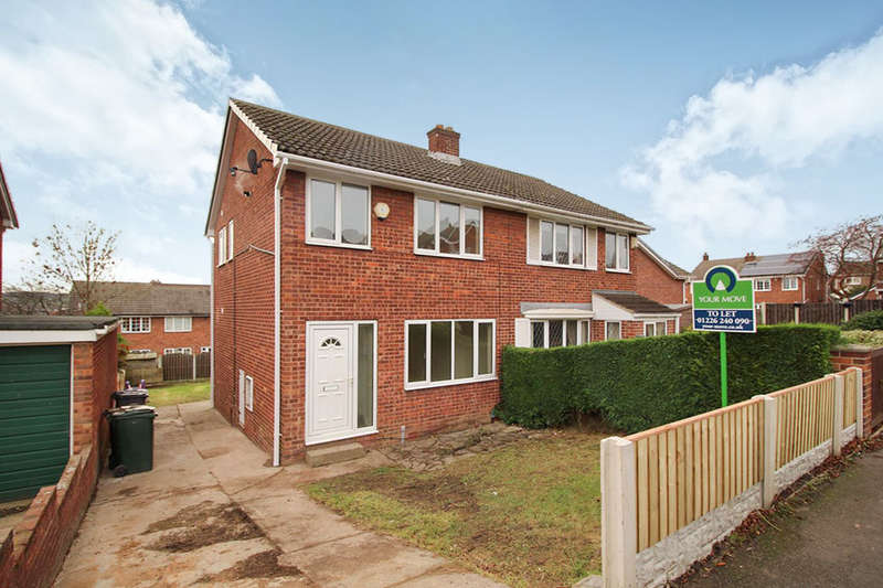 3 Bedrooms Semi Detached House for rent in Sparkfields, Mapplewell, Barnsley, S75